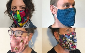 Craft Collective making facemasks for Covid-19